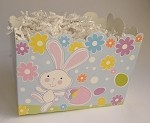 Easter Bunny and Eggs Basket Boxes (Large, 10.25