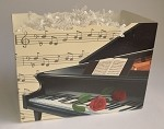 Piano and Rose Basket Boxes (Large, 10.25