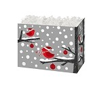 Winter Redbird Basket Boxes (Small, 7