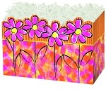 Painted Daisy Basket Boxes (Large, 10.25