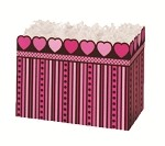Pink Chocolate Basket Boxes (Small, 7