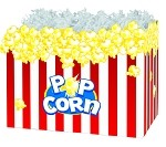 Popcorn Basket Boxes (Small, 7
