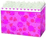Scalloped Hearts Basket Boxes (Large, 10.25