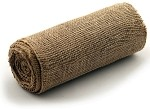 Natural Burlap Jute Ribbon with a Finished Edge, 9
