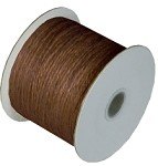 Chocolate Burlap Jute Twine, 1.5 mm x 100 yards