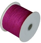 Plum Burlap Jute Twine, 1.5 mm x 100 yards