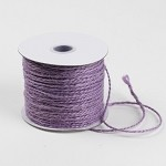Lavender Burlap Jute Twine, 1.5 mm x 100 yards
