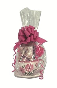 "Clear Cellophane Basket (Flat) Bags (15"" x 20"")"