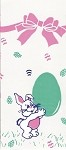 Easter Bunny Cellophane Printed Bags, 100 bags