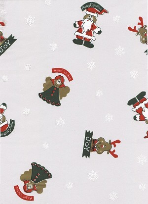 Angel Wishes Christmas Printed Cellophane Roll, 100' L