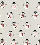 Snowmen Cellophane Printed Bags, Large Size (5