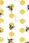 Bees Printed Cellophane Roll, 30