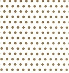 Dots-Gold Cellophane Printed Bags, 100 bags