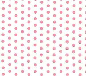 Dots-Pink Cellophane Printed Bags, 100 bags