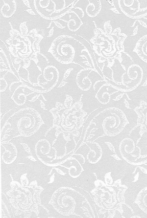 Elegant Lace Cellophane Printed Bags, (5 inch x 3 inch x 11.5 inch), 100 bags