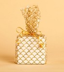 Cottage Creation, Gold, Cellophane Printed Bags, 100 bags