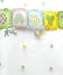 Baby - Sweet Cellophane Printed Bags, 100 bags