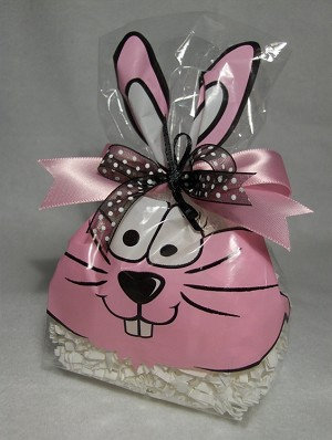 Cottontail Cellophane Printed Bags, 100 bags