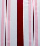 Sweet Stripes - Rasberry Cellophane Printed Bags, 100 bags