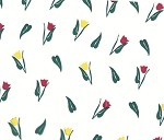 Tulips Printed Cellophane Roll,  30