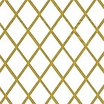 Harlequin Gold Printed Cellophane Roll, 30