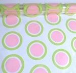 Mod Dot Pink/Lime Printed Cellophane Roll, 40