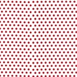 Dots-Red Printed Cellophane Roll, 100' L