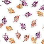 Autumn Leaves Printed Cellophane Roll,  30