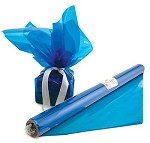 Blue Tinted Cellophane Roll, 24