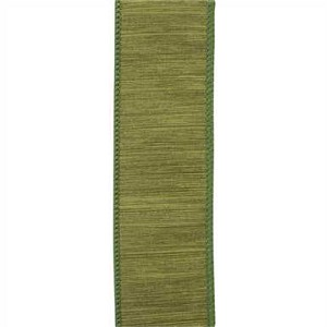 McKenna Wired Ribbon, Moss, 10 yards