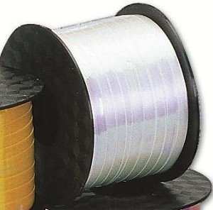"White Iridescent Curling Ribbon (3/16"" x 250 yards)"