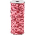 Red/White, 16-Ply Bakers Twine, 250 yards