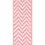 Pink Chevron Grosgrain Ribbon, 1-1/2