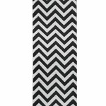Black Chevron Grosgrain Ribbon, 1-1/2