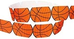 Basketball Grosgrain Ribbon, 7/8