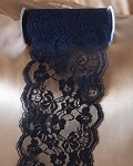 Black Chantilly Lace Ribbon, 6