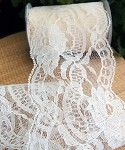 Ivory Chantilly Lace Ribbon, 4