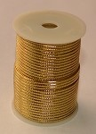 Gold Metallic Non-Elastic Cord, 50 feet