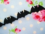 Bats Puffy Trim (10 yards)