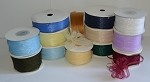 Organza Sheer Pull Ribbon, 1/4