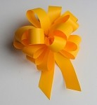 Daffodil Faux Paper Pull Bows