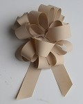 Oatmeal Faux Paper Pull Bows