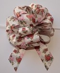Roses Floral Printed Pull Bows (8