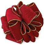 Burgundy Wired Plush, 4