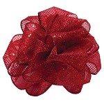 Red Wired Shake Up Ribbon, 2-1/2