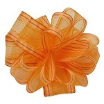 Daffodil Wired Surprise Ribbon, 1.5 inch x 50 yards