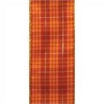 Wired Fall Plaid Ribbon (Bewitched), 2.5 inch x 10 yards