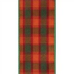 Wired Fall Julesburg Plaid Ribbon, 2.5 inch x 10 yards