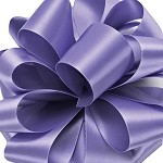 Iris Wired Double Face Satin Ribbon, 25 yards