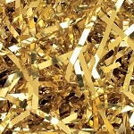 Gold Shredded Mylar, 1/2 pound bag